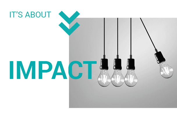 It's about IMPACT